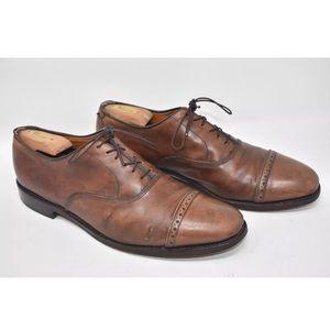Allen Edmonds Cap Toe Dress Shoes Sz 11C NARROW